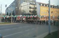 Marsz narodowców w Gdańsku