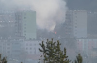 Pożar w gdyńskim Pekinie