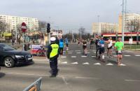 Maraton. Policja kieruje ruchem