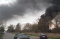 Dwa pożary na Przeróbce