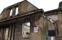 Zrujnowana willa w Gdyni
