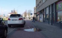 """Droga """"rowerowa"""" w Gdyni tylko z..."""
