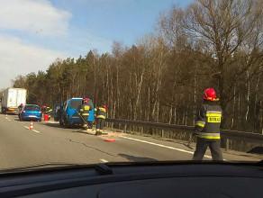 Wypadek pomiędzy Matarnią a Osową na obwodnicy