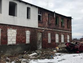 Opuszczone budynki na Rudnikach