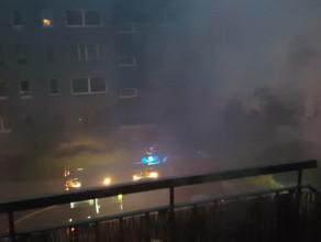 Pożar piwnicy na ul. Konopnickiej