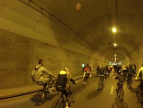 Rowerowa druga rocznica otwarcie tunelu pod Martwą Wisłą