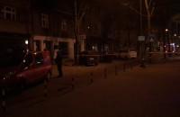 Straż miejska i strażacy na Abrahama w Gdyni