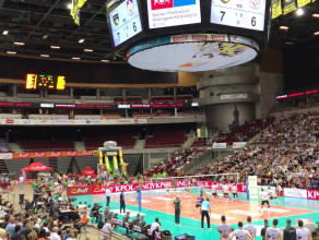 Świetna atmosfera na meczu o brązowy medal