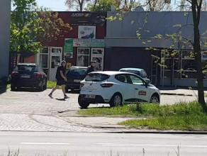 Kolizja dwóch aut na Krasickiego