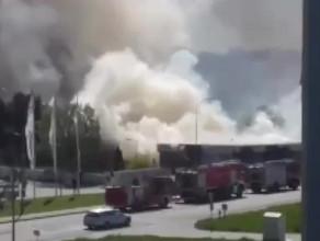 Pożar przy Małomiejskiej