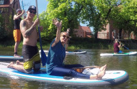 Yoga & SUP czyli zajęcia z jogi połączone ze spływem po Motławie