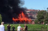 Pożar sklepu przy Małomiejskiej