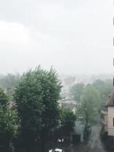Sroga ulewa w Gdyni