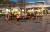 Bębny i tańce na Monciaku