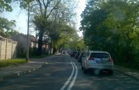 Warszawska w obu kierunkach zatkana