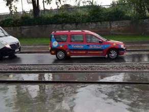 Jana z Kolna w Gdańsku pod wodą