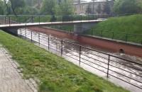 Stan kanału Raduni po ulewie