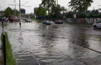 Na Jana z Kolna w Gdańsku po kolana wody
