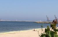 Dziwna woda przy Westerplatte