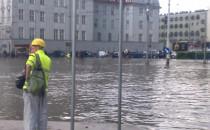 Potop przy Forum Gdańsk, godz. 16:30
