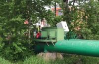 Zrzut z kanalizacji sanitarnej w trzech miejscach