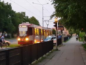 Wstrzymany ruch tramwajów  na Siedlcach