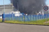 Pożar na terenie rafinerii Lotos Gdańsk