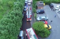 Pożar przy ulicy Czubińskiego