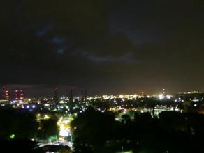 Burza widziana z Góry Gradowej w Gdańsku