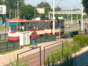 Po wypadku, tramwaje cofają do węzła Kliniczna