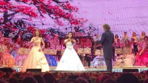 Chińskie sopranistki podczas koncertu Andre Rieu