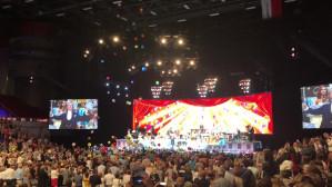 Morze balonów na koncercie Andre Rieu