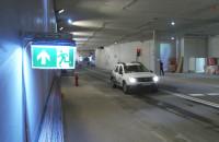 Przejazd Nowym Podwalem Grodzkim z perspektywy kierowcy