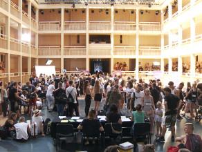 Tłumy na castingu Top Model w Teatrze Szekspirowskim