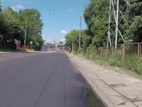W tym miejscu pojawi się pas rowerowy