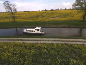 Czartery jachtów motorowych na Pętli Żuławskiej