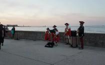 Muzyczni muszkieterzy na Bulwarze w Gdyni