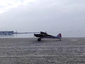 Lądowanie na plaży w Gdyni