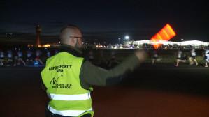 Bieg Skywayrun na lotnisku w Rębiechowie