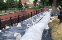 Ćwiczenia powodziowe gdańskich służb