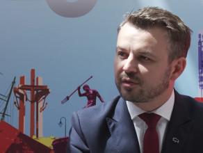 Bartosz Zborowski, dyrektor Biura Projektów Strategicznych, Bank Pekao SA podczas EKF 2018