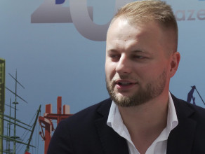 Karol Sadaj z Revolut podczas EKF 2018