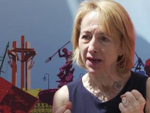 Małgorzata O'Shaughnessy podczas Europejskiego Kongresu Finansowego 2018