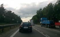 Korek na obwinicy od Ikei w kierunku Gdyni
