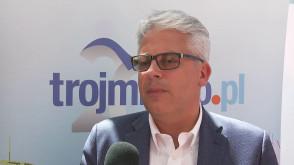 Paweł Jakubik, członek zarządu Microsoft Polska podczas EKF 2018