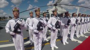 Chińska fregata wpłynęła do gdyńskiego portu