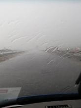 Pada przed mostem w Kiezmarku