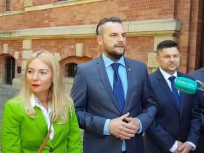 Łukasz Hamadyk przedstawia kandydata na prezydenta Gdańska