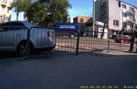 Wypadek na ul. Wielkopolskiej w Gdyni