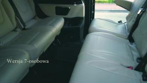 Autoluxus-wynajem busa z kierowcą. Mercedes V-class minivan.